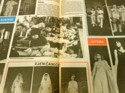 Sana factory magazine: spring/summer collection in 1985
