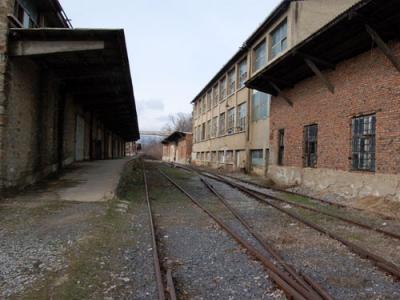 Makedonka's former railway line