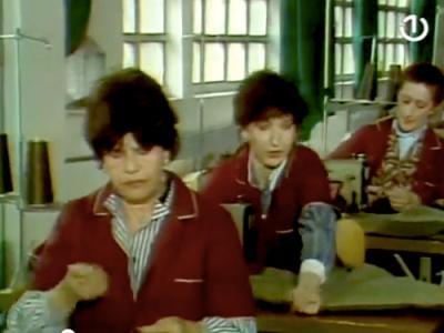 A still from the television series Priče iz Fabrike (1985)